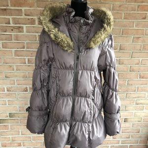 DOWN FILLED PUFFER COAT